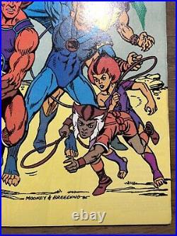 THUNDERCATS #1 (December 1985) 9.6 Or Better CGC It! + Superman Thundercats