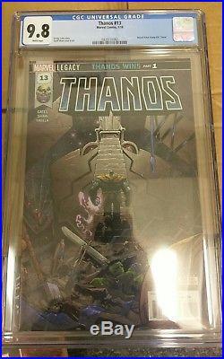 Thanos #13 Leg 1st App Of Cosmic Ghostrider 1st Print Marvel Cgc 9.8