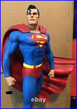 Tweeterhead DC EXCLUSIVE Superman Super Powers Statue Maquette 092/250