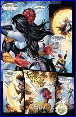 Tyler Kirkham Superman #30 Page 13 Original Art Parallax Sinestro Drak DC Comics