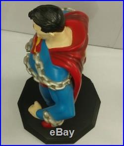 ULTRA RARE 2001 Warner Bros Studio Store Exclusive Superman 25 Maquette Statue
