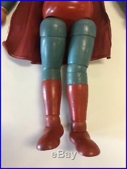 Vintage Ideal SUPERMAN doll 1940