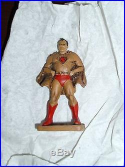 Vintage Superman Supermen of America Gold Ring #18 of 200 DC Comics Rare 1995