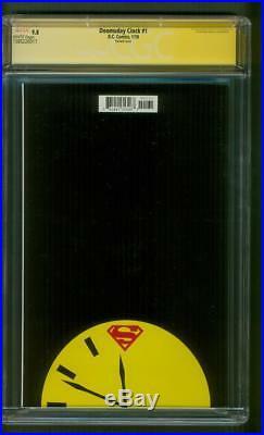 Watchmen Doomsday Clock 1 CGC SS 9.8 Superman Henry Cavill Signed 2018 Movie