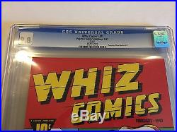 Whiz Comics 2 Cgc 9.8 Nostalgia Reprint (1975) Rare