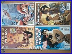 Wonder Woman 28 Book Adam Hughes Cover Lot DC 153-197 Batman Superman