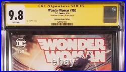 Wonder Woman #750 Cgc Ss 9.8 Jay Anacleto Variant Batman Superman Flash Aquaman
