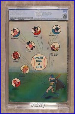World's Finest #3 1941 CBCS 4.5