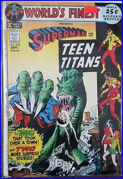 World's Finest DC Comic Run Lot o 18 Silver Age Superman Batman 175 202 203 205
