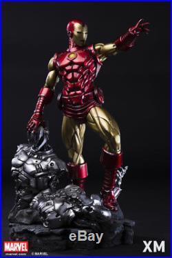 XM Studios Iron Man Classic Statue Sideshow Marvel 1/4 Scale